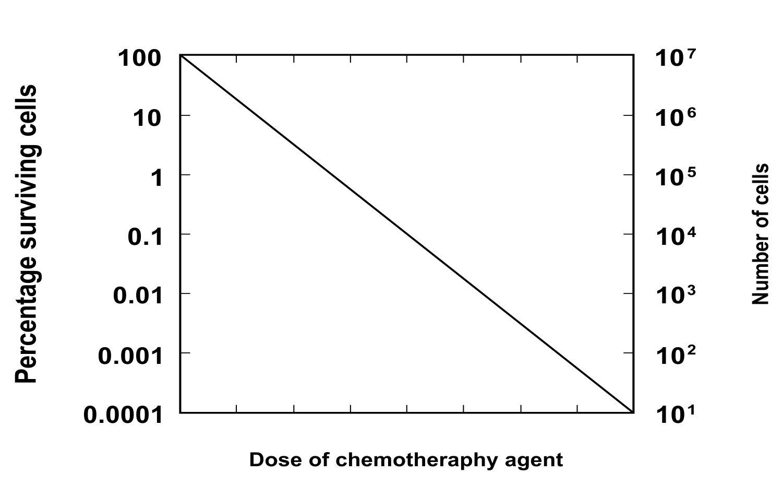 log-kill model of cell death